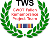 NTWS GWOT Fallen Remembrance Project Team