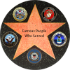 Famous People Who Served